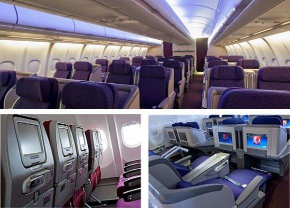 A330-300-cabin