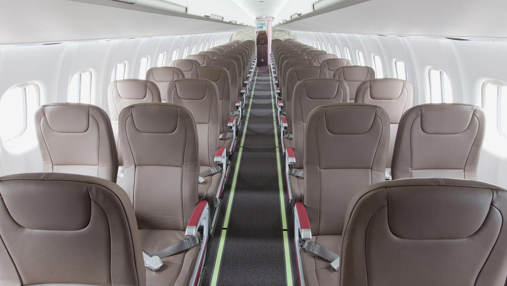 ATR-42-interior