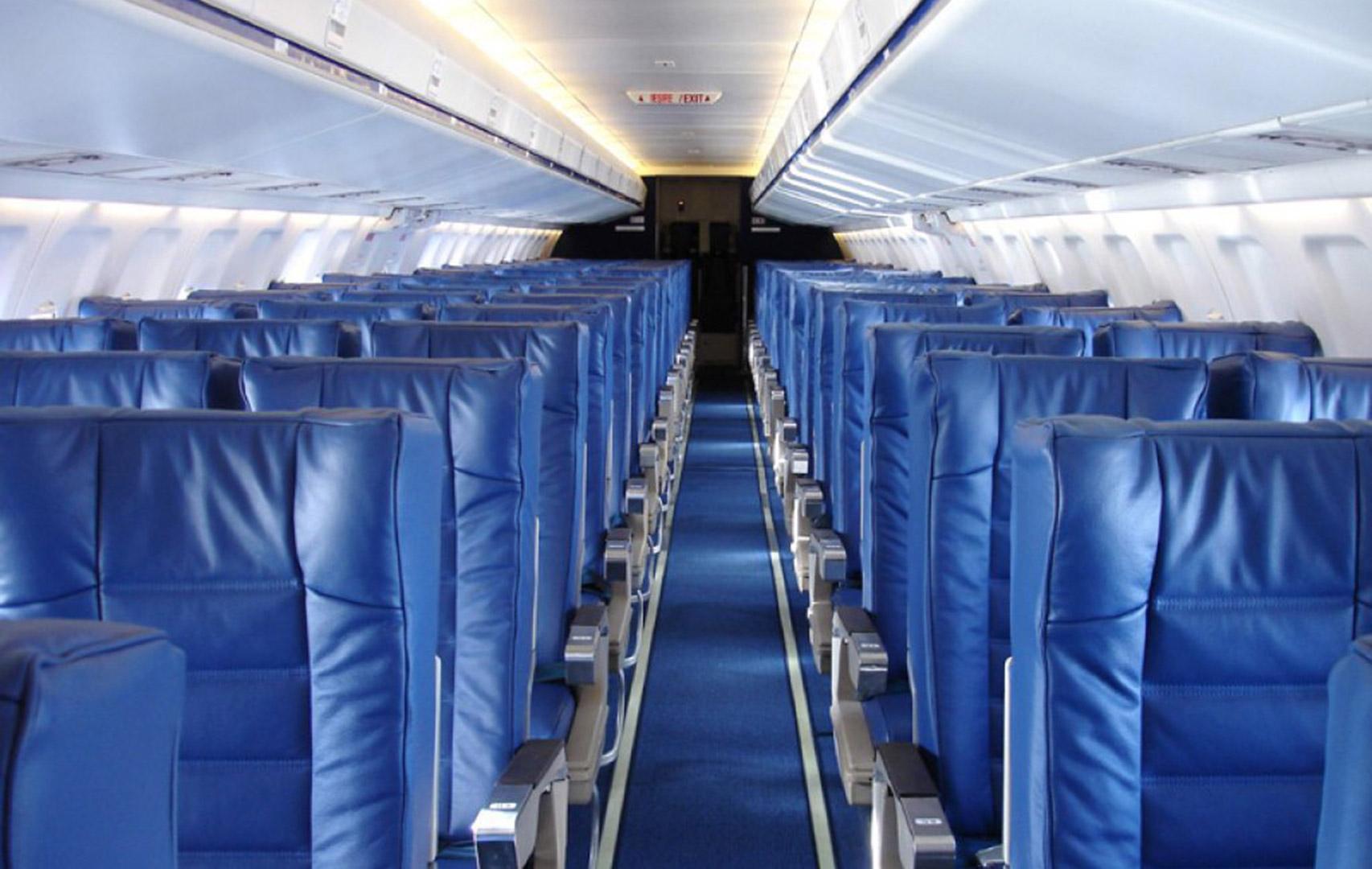 Fokker-100-interior
